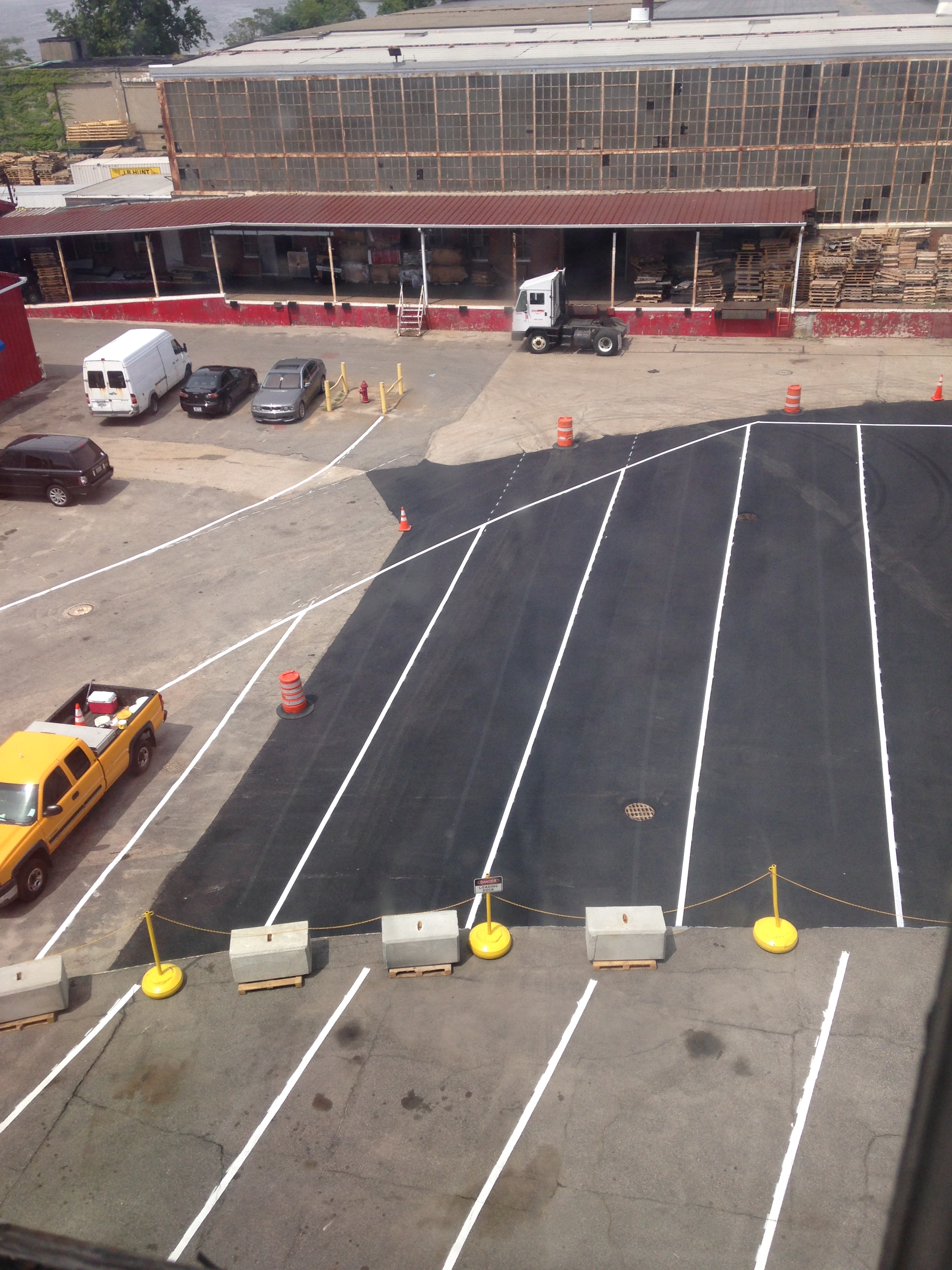 commercial paving service